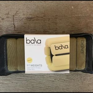 Brand New 1lb Bala Band Weights